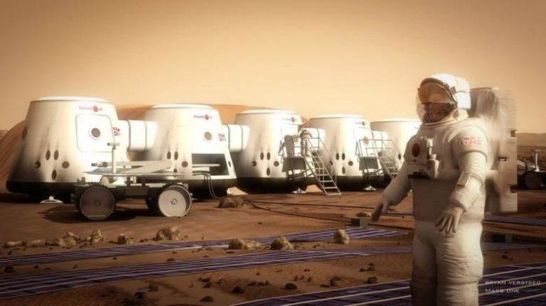 Фото добровольцев летящих жить на марс